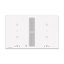 Indukčný varný panel s digestorom  Küppersbusch KMI 8500.0, biela 1