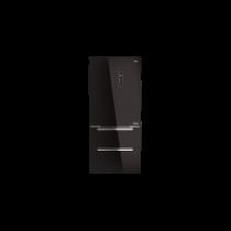 Voľne stojaca chladnička TEKA RFD 77820 MAESTRO, čierne sklo 1