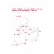 Multifunkčná rúra TEKA HLB 840 MAESTRO, biele sklo 3