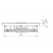 Varná doska BORA BFIU, Basic, recirkulácia 3