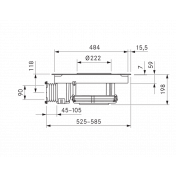 Varná doska BORA BFIU, Basic, recirkulácia 4